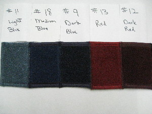 Carpet Dash Covers - Multiple Colors